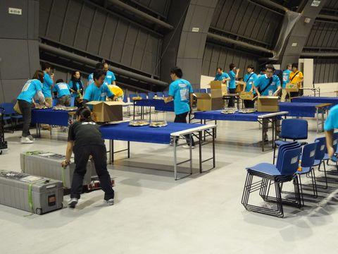 JAWS FESTA Kansai 2013 懇親会の準備