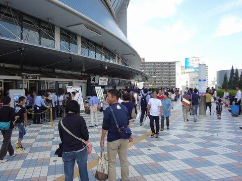 京セラドーム大阪前