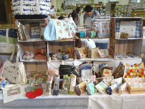 京都アートフリーマーケット 布製品のお店
