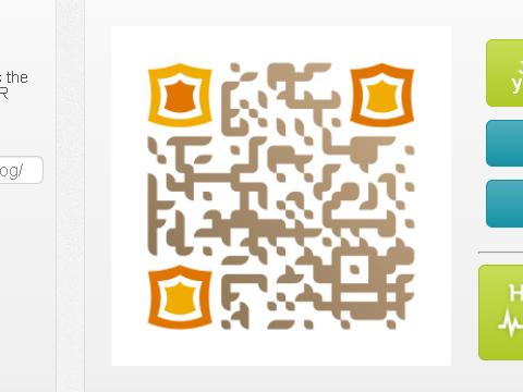 QR Code generator Unitag QRコードサンプル