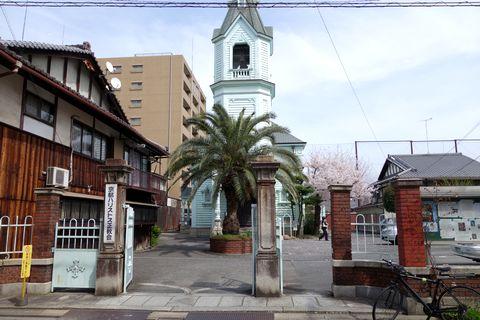 京都ハリストス正教会正面