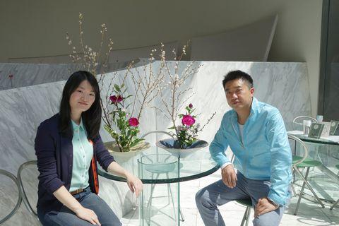 中国人観光客向け池坊いけばな体験教室