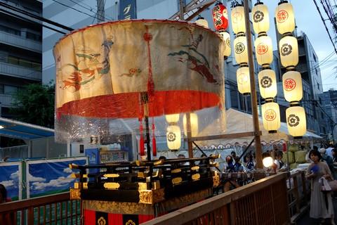 祇園祭 前祭宵山初日 綾傘鉾