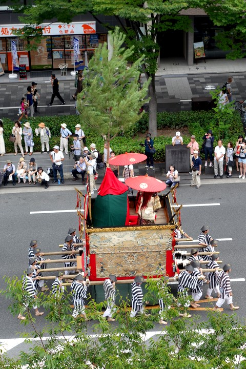 祇園祭後祭 山鉾巡行 役行者山