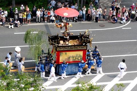 祇園祭後祭 山鉾巡行 浄妙山