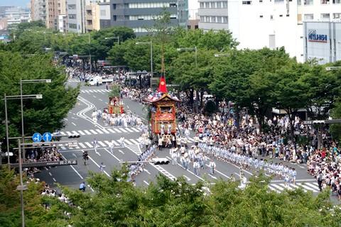祇園祭後祭 山鉾巡行 南観音山