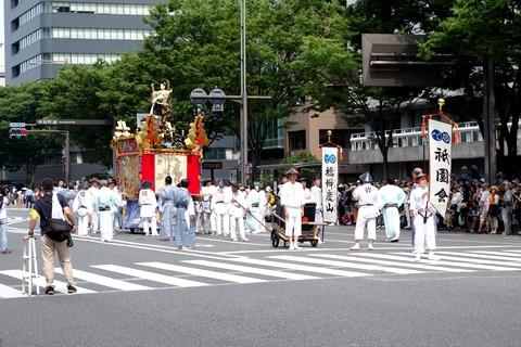 祇園祭後祭 山鉾巡行 橋弁慶山