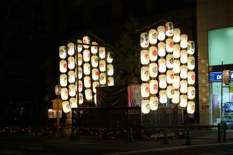 祇園祭後祭 夜の宵山 鈴鹿山