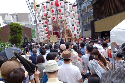 祇園祭後祭 大船鉾付近