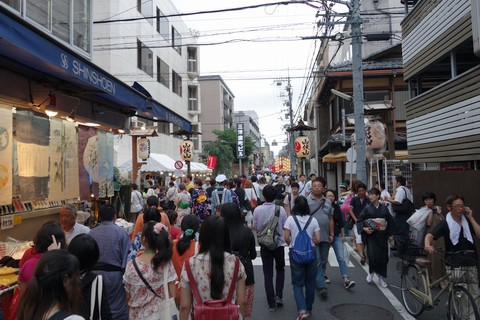 祇園祭2014 前祭宵山初日 室町錦小路