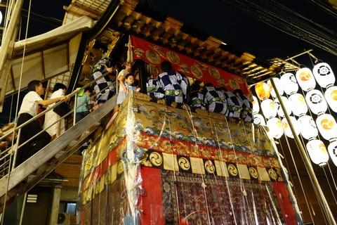 祇園祭前祭 宵山初日 岩戸山