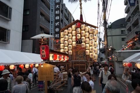 祇園祭2014 前祭宵山初日 菊水鉾