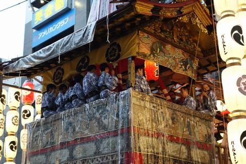 祇園祭 前祭宵山初日 鶏鉾