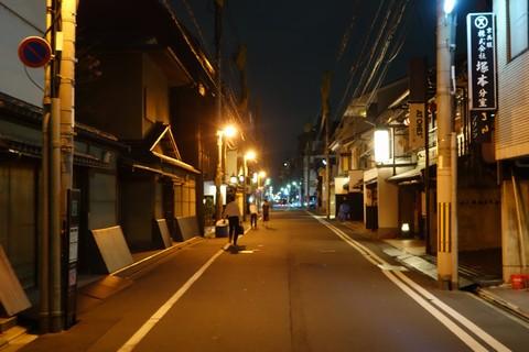 祇園祭 前祭宵山初日 新町錦小路付近