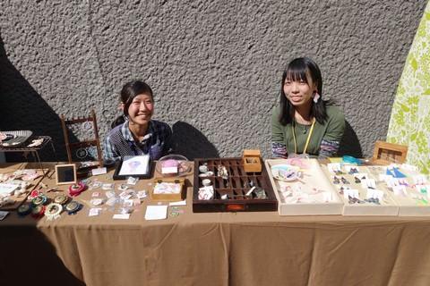 京都アートフリーマーケット アクセサリーのお店