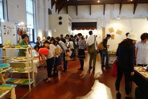 京都アートフリーマーケット 京都文化博物館内