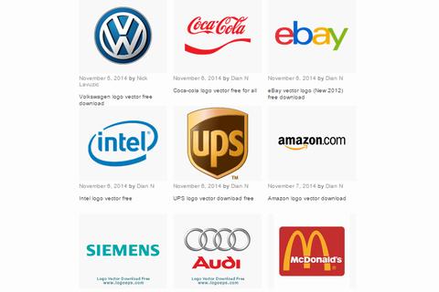 企業ロゴ・ブランドロゴをIllustrator・EPSでダウンロードできるサイト4選