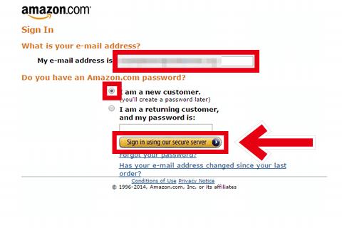 amazon Product Advertising API アカウント作成