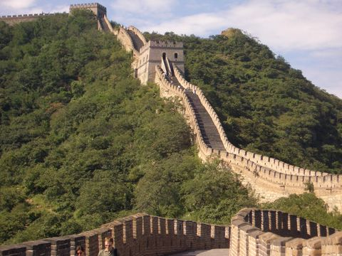 中国 万里の長城 グレートファイアーウォール