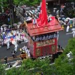 2015雨の祇園祭前祭 山鉾巡行