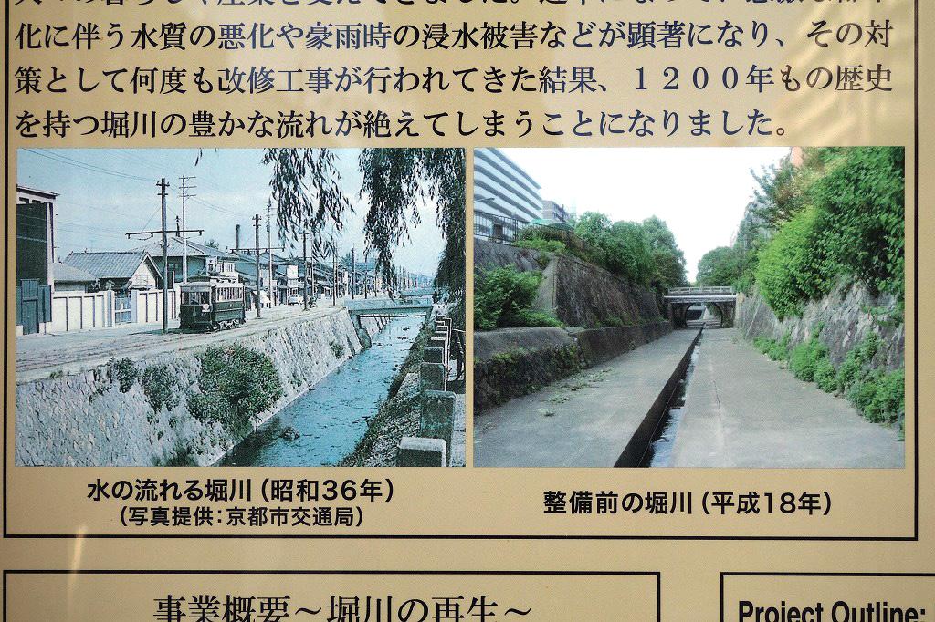 京都 昔の堀川