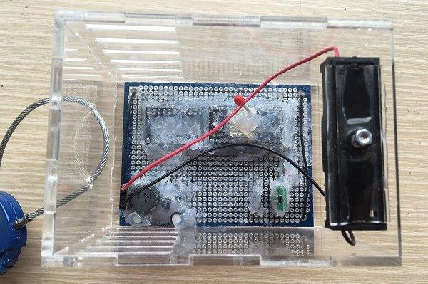 マイコン温湿度計 子機
