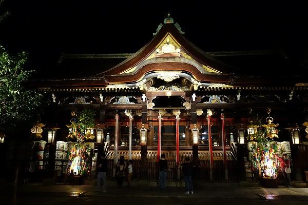 京の七夕 北野天満宮本殿