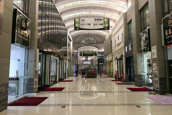 中国 華東国際珠宝城の内部