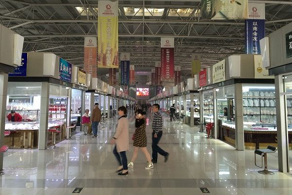 中国 華東国際珠宝城 真珠販売店