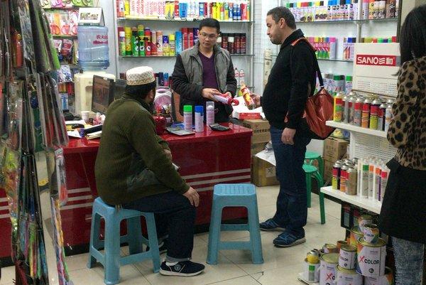 義烏国際商貿城 中央アジア系バイヤー