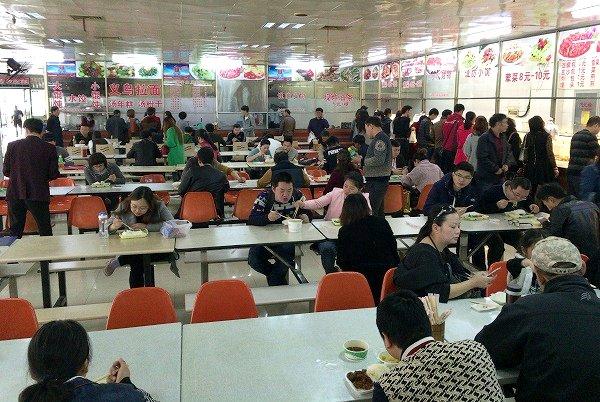 義烏国際商貿城 食堂