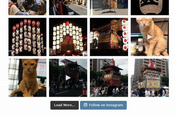 Instagramフィード 画像ギャラリー