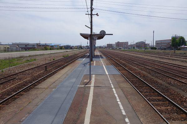 JR能町駅 貨物廃止後