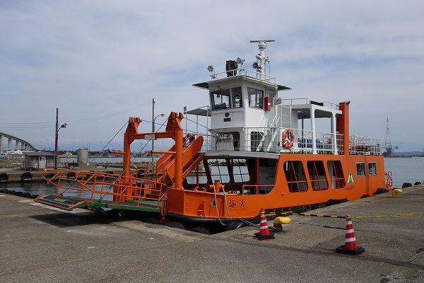 富山県営渡船 渡し船