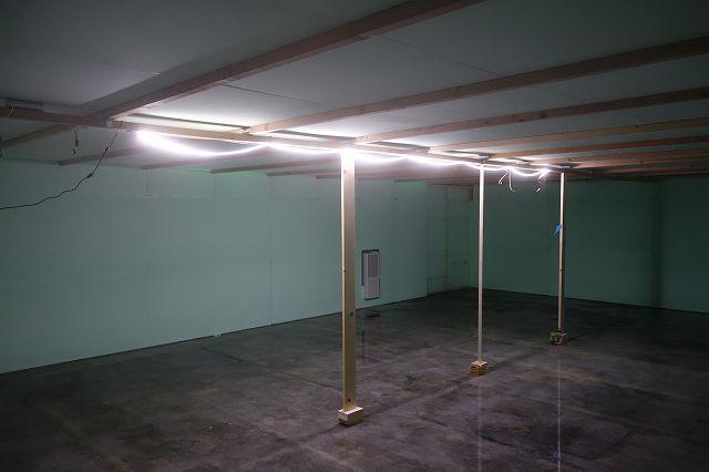LEDテープライト照明