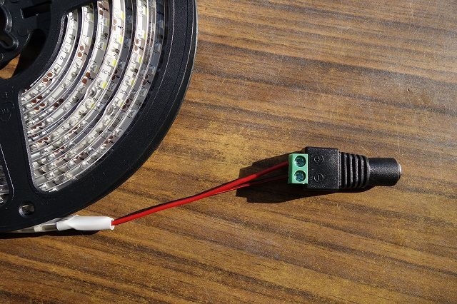 LEDテープライト 配線用コネクター