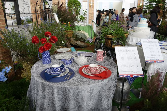 テーブルウェアフェスティバル イングリッシュガーデン