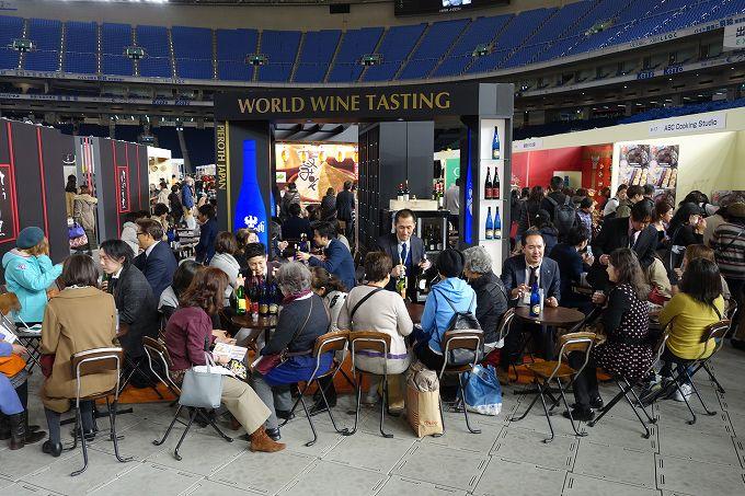 テーブルウェアフェスティバル グラステイスティングコーナー