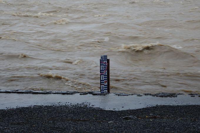 桂川 水位計