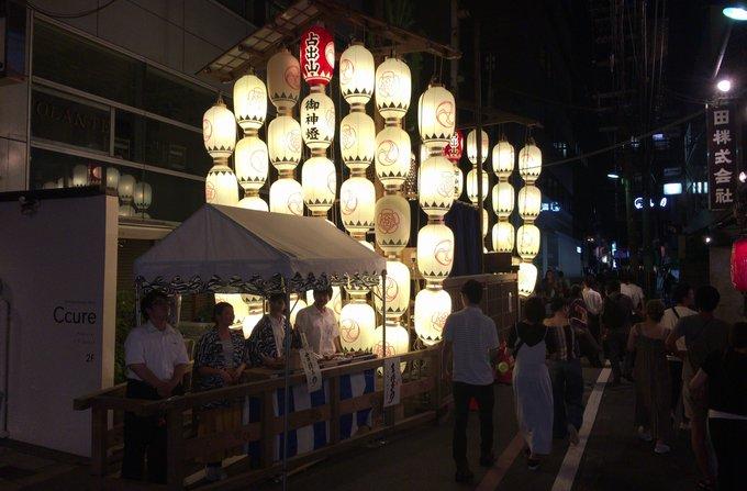 祇園祭宵山 占出山