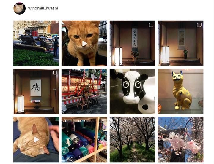 Instagram 写真ギャラリー
