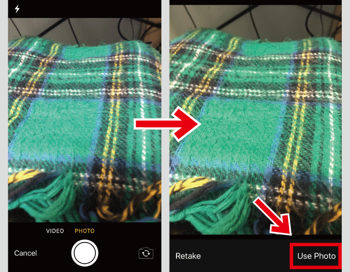 ギガファイル便アプリ カメラ画像アップロード